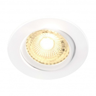 LED Einbaustrahler weiß Nordlux Octans 5er Set GU10 a 345lm 2700K