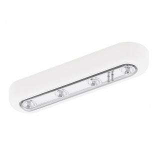 EGLO BALIOLA LED Schrankbeleuchtung, Batterie, weiss, chrom