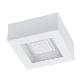 EGLO FERREROS LED Aufbaulampe 1-flg. 840lm 140x140mm weiß eckig