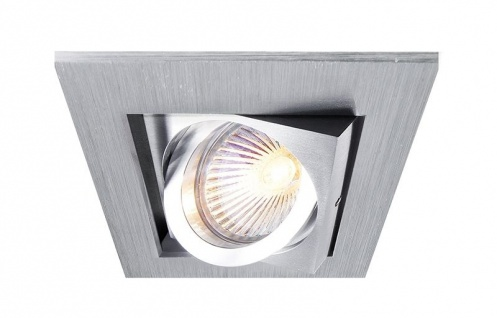 Deko Light Kardan I Einbaustrahler silber 1 flg. GU5, 3 / MR16 Modern