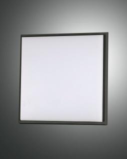LED Deckenaußenleuchte schwarz Fabas Luce Desdy 2300lm 240mm IP54
