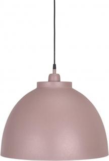 Hochwertige Pendelleuchte aus Metall rosa PR Home Rochester 45cm E27 dimmbar - Vorschau