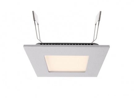 Deko Light LED Panel Square 8 Einbaustrahler silber 570lm 2700K >80 Ra 110° Modern