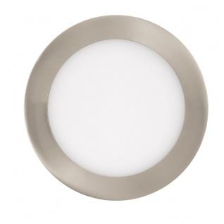 EGLO Connect FUEVA-C LED RGB Einbaulampe 170mm rund nickel-matt App Steuerbar