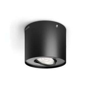Philips myLiving LED Spot 1flg. Phase 533003016, 500lm, schwarz
