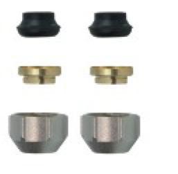 Klemmringverschraubung 15mm für Kupfer weichdichtend 600800205R
