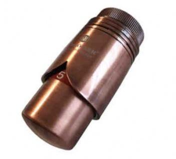 Schlösser Thermostatkopf Brilliant M30 x 1, 5 Heimeier Antik Kupfer 6002 00012