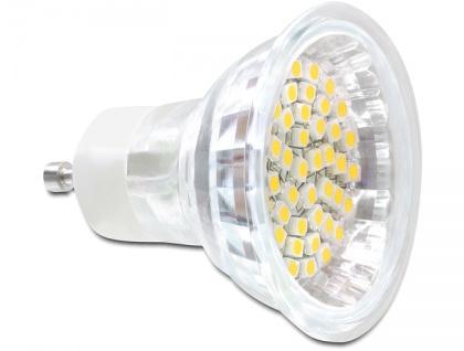 Delock L GU10 3, 0W ww 48x SMD LED Glasabdeckung