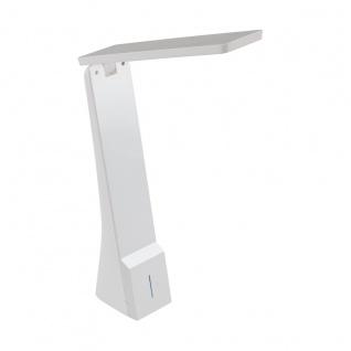 EGLO LA SECA LED Schreibtischlampe weiß 400lm Farbwechsel warm-kaltweiß