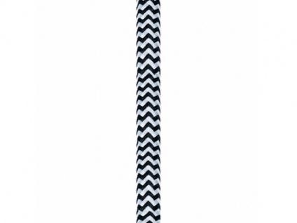Nordlux Textil Kabel 25m schwarz/weiss