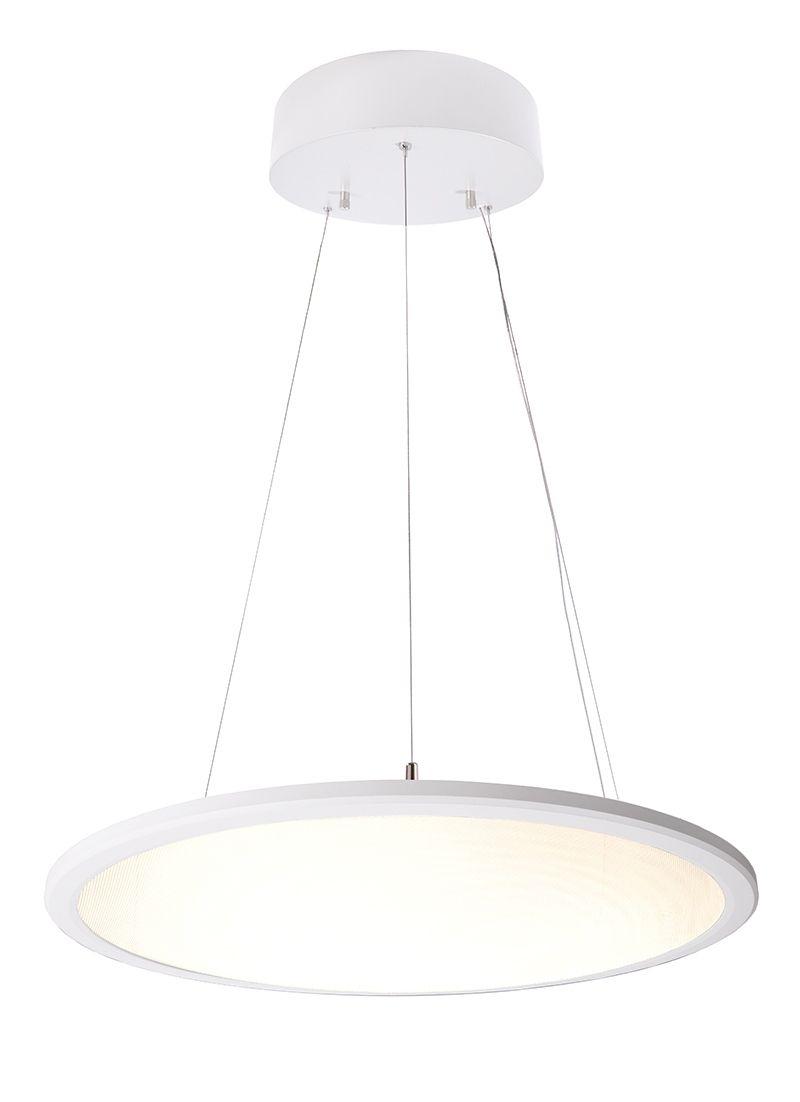 Deko Light LED Panel transparent rund Pendelleuchte weiß 20lm 20K >20  Ra 20° Modern