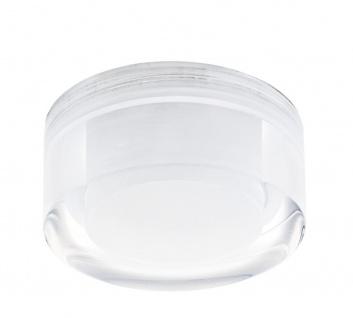 EGLO TORTOLI LED Einbauleuchte GU10 chrom, klar/satin.