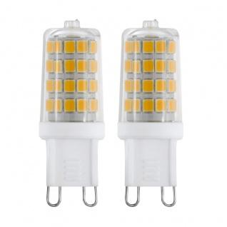EGLO G9 LED Leuchtmittel 2er VE 3W 360lm 3000K 49x17mm