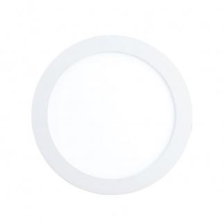 EGLO Connect FUEVA-C LED RGB Einbaulampe 225mm rund weiss App Steuerbar