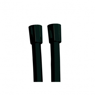 Ramon Soler Brauseschlauch mit konischer Aufnahme 1.75 in PVC schwarz matt