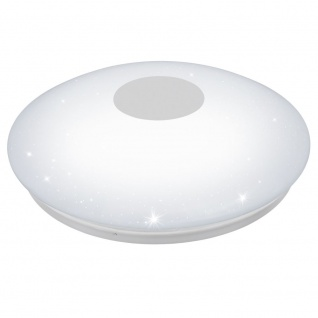 EGLO VOLTAGO 2 LED Deckenleuchte Ø600, Sternenhimmel, 1-flg., weiss