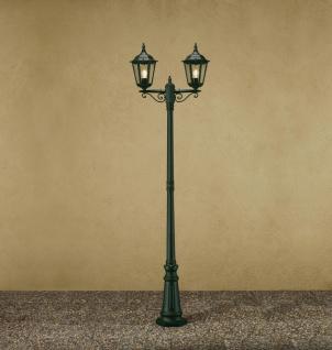 KONSTSMIDE Firenze Grüne Standleuchte mit 2 Leuchtenköpfen