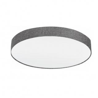 EGLO PASTERI Deckenleuchte Leinen grau, weiss 760mm 5xE27