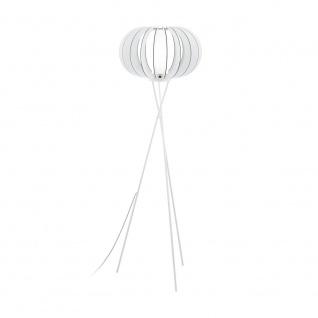 EGLO STELLATO 2 Stehlampe dreibein, 1-flg., E27, weiss