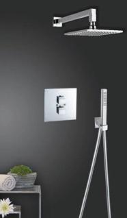 Ramon Soler Kuatro Unterputz- Thermostat Brausebatterie 2-Wege mit Regenbrauseset 250mm 4787 B2