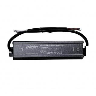 Bioledex 100W 24V DC LED Treiber IP67 wasserdichtes Netzteil für 24V LEDs