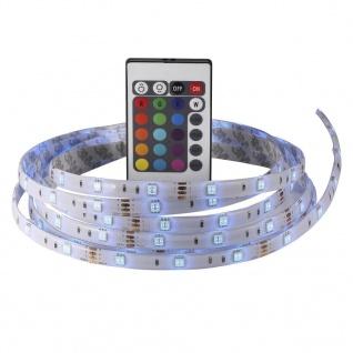 LED RGB Strip 3m IP23 330lm je m inkl. Steckernetzteil u. Fernbedienung