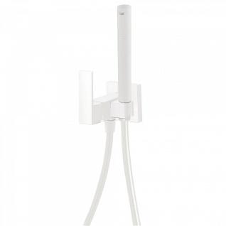 Tres Cuadro Exclusive Unterputz Einhebel WC Hygiene Brause weiss matt 006.123.01.BM