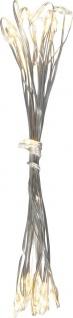Globo VENUTO Lichterkette Kupfer Silber metallic, 20xLED