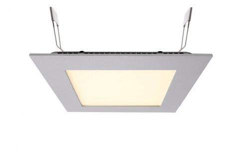 Deko Light LED Panel Square 15 Einbaustrahler silber 1000lm 2700K >80 Ra 110° Modern