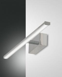 LED Spiegelleuchte chrom Fabas Luce Nala 500mm 900lm 3000K