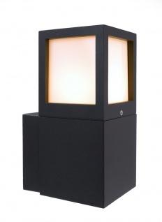 Deko Light Facado A Wandleuchte außen anthrazit IP54 1 flg. E27 Modern