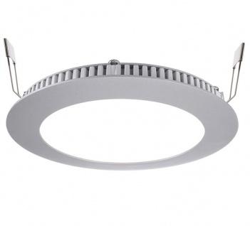 Deko Light LED Panel 8 Einbaustrahler silber 610lm 4000K >80 Ra 115° Modern