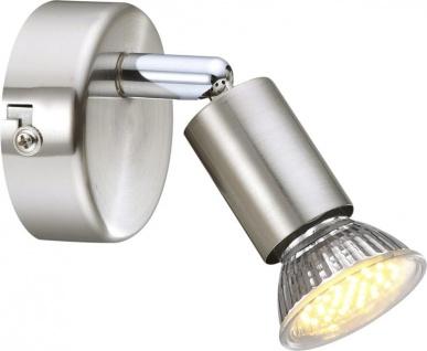 Globo MATRIX Strahler Chrom Nickel matt, 1xGU10 LED