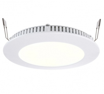 Deko Light LED Panel 8 Einbaustrahler weiß 590lm 2700K >80 Ra 115° Modern