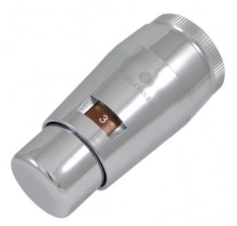 Schlösser Thermostatkopf Mini M30 x 1, 5 Heimeier chrom 6011 00034