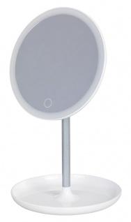 Rabalux Misty LED Schminkspiegel rund weiß 200lm 6000K
