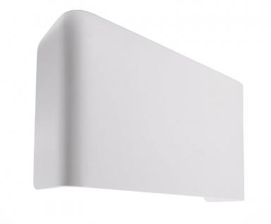 Deko Light Abdeckung Crateris II+III Aluminium Weiß groß weiß IP20