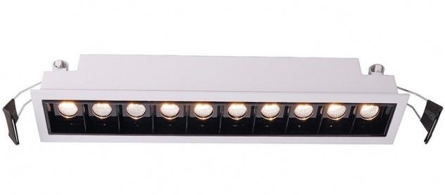 Deko Light Ceti 10 Einbaustrahler LED weiß-matt, schwarz 1545lm 2900K >90 Ra 45° Modern