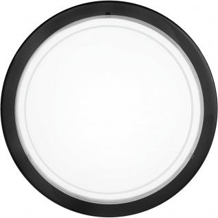 EGLO PLANET 1 Wand & Deckenleuchte 290mm, E27 schwarz