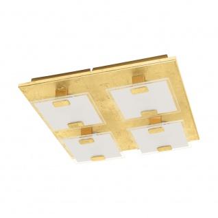 EGLO VICARO 1 LED Deckenleuchte gold, weiss