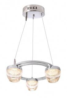 Deko Light Doradus III Pendelleuchte LED transparent, chrom 900lm 3000K >80 Ra 200° Modern