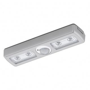 EGLO BALIOLA LED Schrankbeleuchtung, Batterie, Sensor, silber
