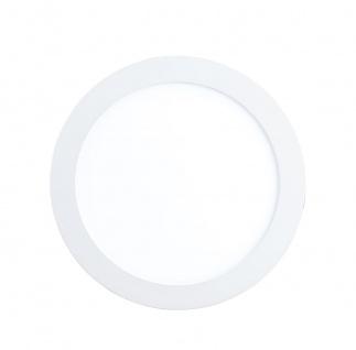 EGLO Connect FUEVA-C LED RGB Einbaulampe 170mm rund weiss App Steuerbar