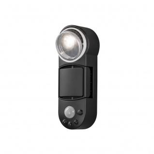 KONSTSMIDE Batterie LED Wandaufbauleuchte mit Bewegungsmelder, schwenkbar, 1, 0Watt