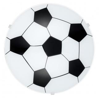 EGLO JUNIOR 1 Wand & Deckenleuchte Kinderzimmer Fussball E27