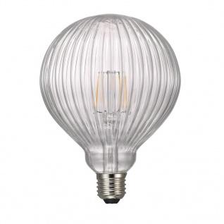 Nordlux Avra BL Stripes E27 LED Leuchtmittel 1, 5W 150lm 2200K Ra 80 360° klar Filament