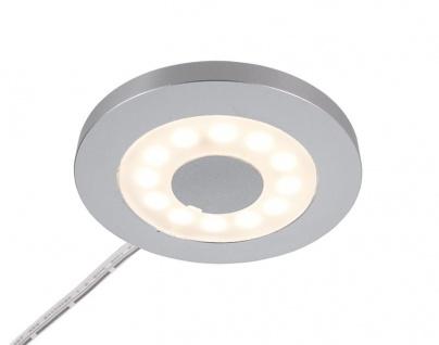 Deko Light Paty Rund Möbelunterbauleuchte LED silber 185lm 3000K >80 Ra 120° Modern