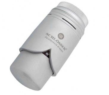 Schlösser Thermostatkopf Brillant M28 x 1, 5 Comap silbergrau satiniert 6004 00004