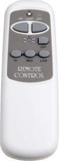Globo Infrared Remote Control Fernbedienung für Ventilatoren Kunststoff weiß