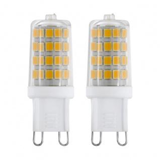EGLO G9 LED Leuchtmittel 2er VE 3W 360lm 4000K 49x14mm